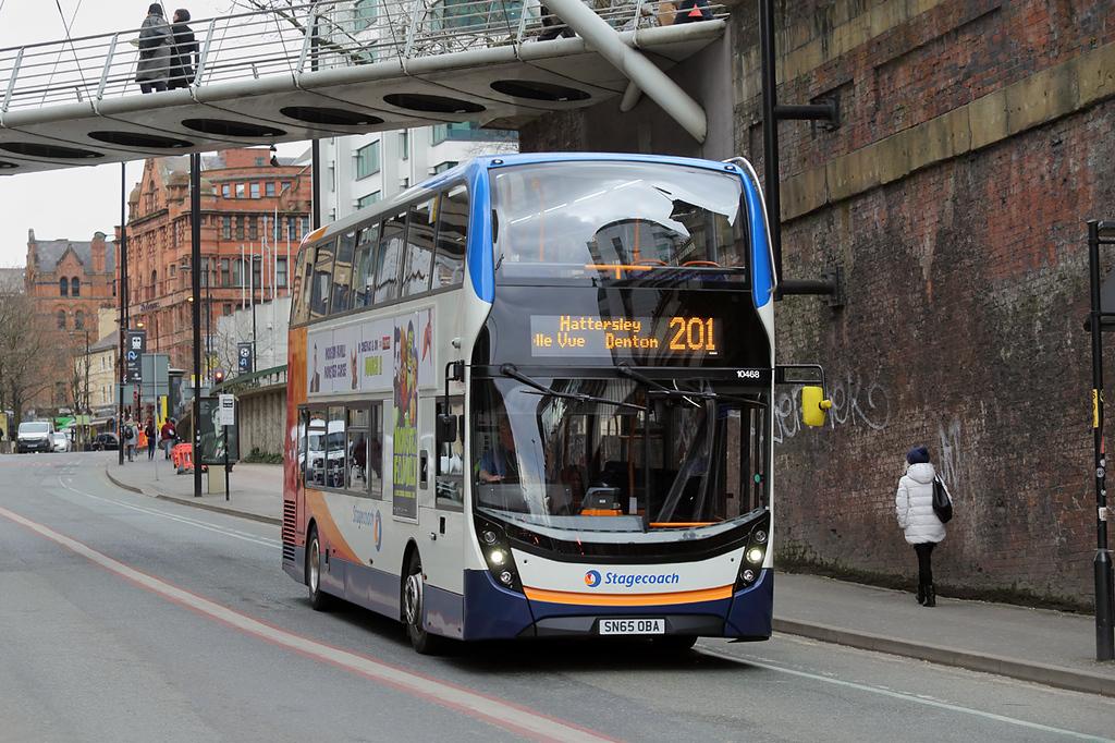 10468 SN65OBA, Manchester 26/2/2018