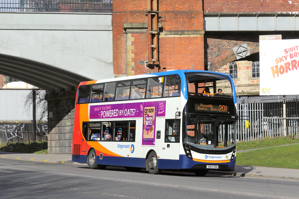 10486 SN65OBW, Manchester 26/2/2018