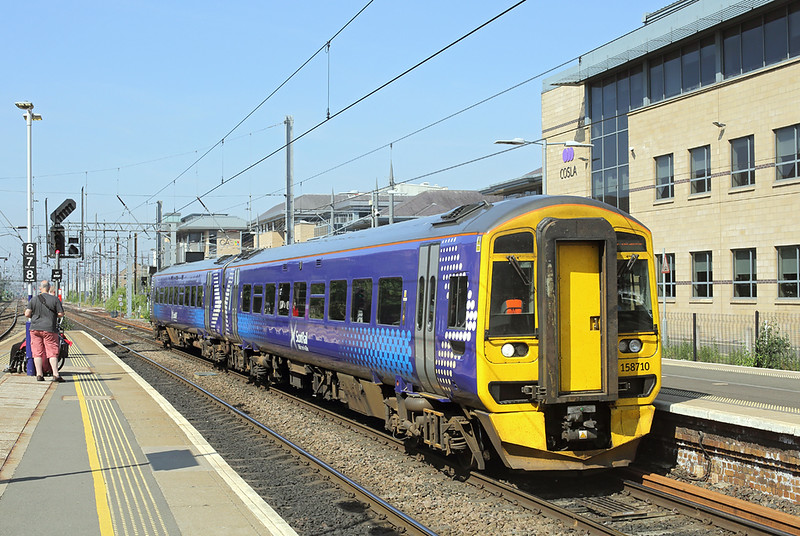 158710 Haymarket 27/6/2018<br /> 2G06 0938 Glenrothes with Thornton-Edinburgh