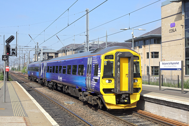 158732 Haymarket 27/6/2018<br /> 2K04 0932 Glenrothes with Thornton-Edinburgh
