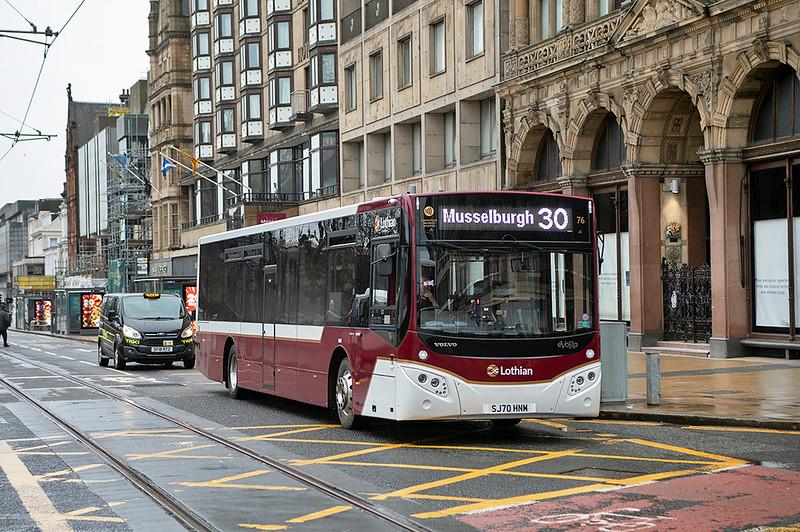76 SJ70HNM, Edinburgh 28/1/2021