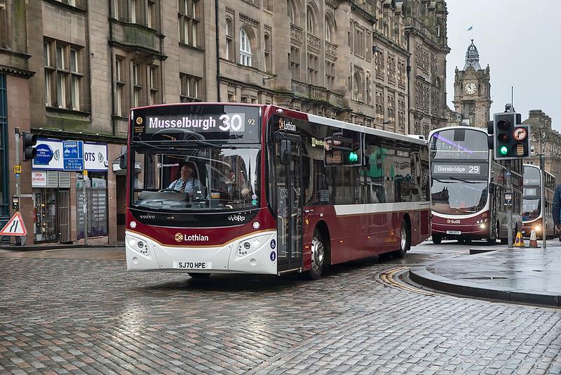 92 SJ70HPE, Edinburgh 28/1/2021