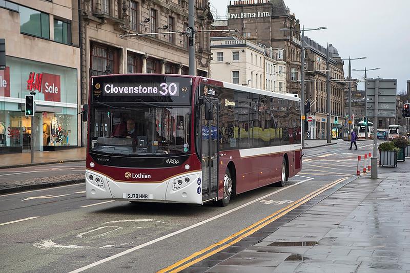 67 SJ70HNB, Edinburgh 28/1/2021