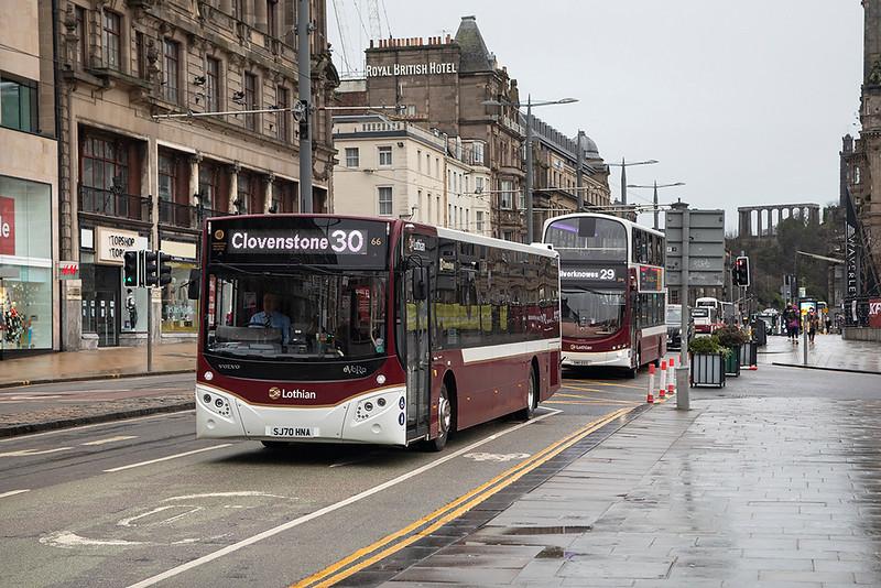 66 SJ70HNA, Edinburgh 28/1/2021