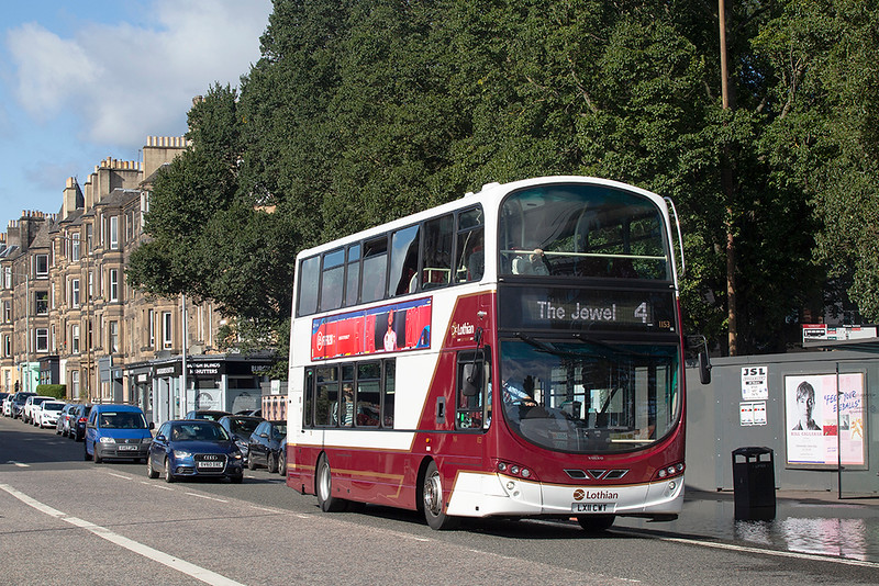 1153 LX11CWT, Meadowbank 28/9/2019