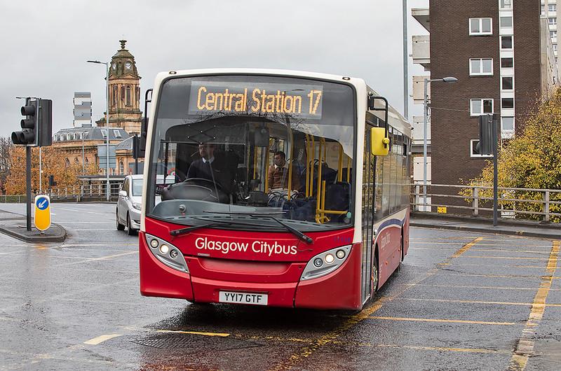 11718 YY17GTF, Glasgow 28/10/2020