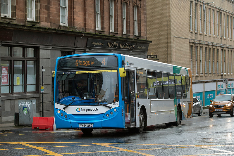 28691 YN64AHD, Glasgow 28/10/2020