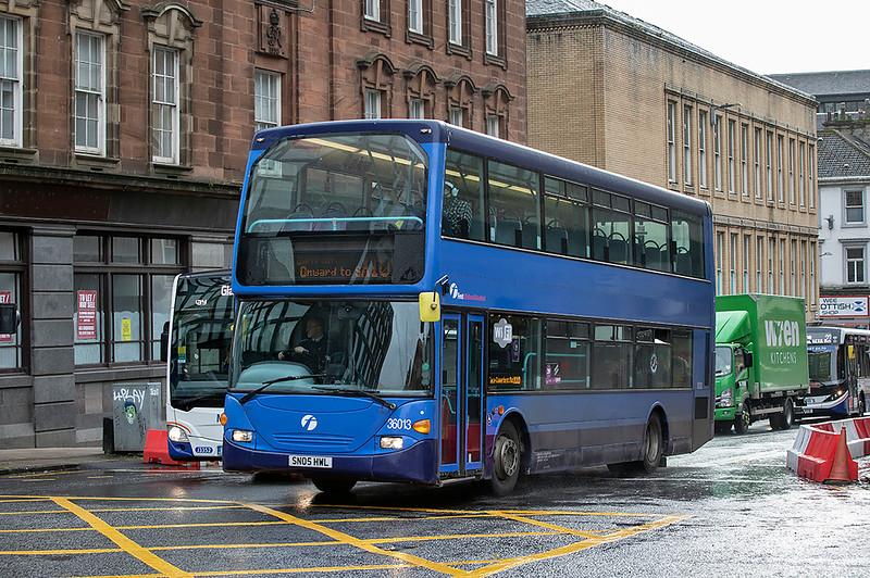 36013 SN05HWL, Glasgow 28/10/2020