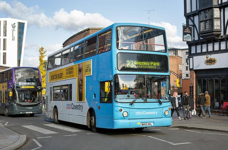 4416 BV52OCL, Coventry 29/10/2019
