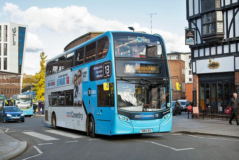 4993 SN64OCA, Coventry 29/10/2019