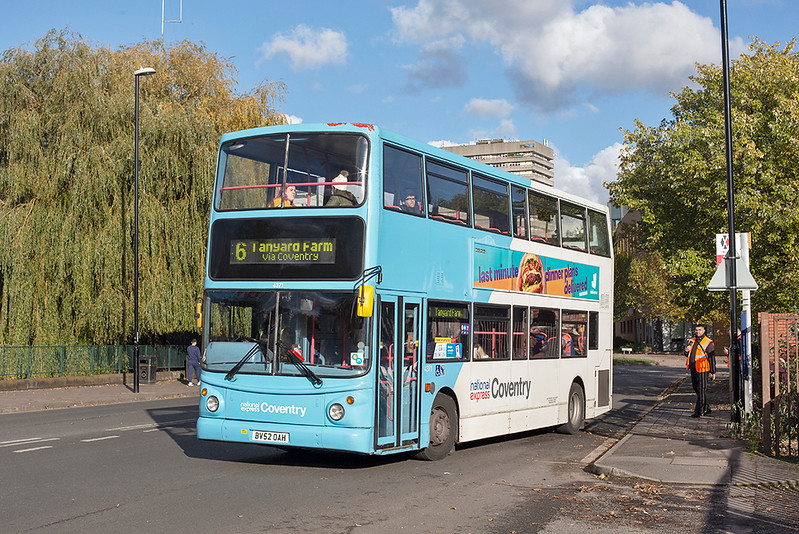 4371 BV52OAH, Coventry 29/10/2019