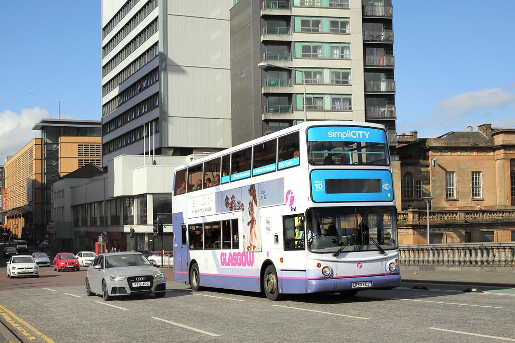 33349 LK53FCJ, Glasgow 30/5/2017