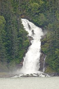 Waterfall - Lynn Canal, AK