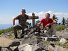Marijn and Kees Jan on Mount Elijah 1929m Center: 42.0848°N 123.3712°W (Oregon Caves National Monument)