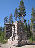 Sign of the North Entrance of Crater Lake National Park