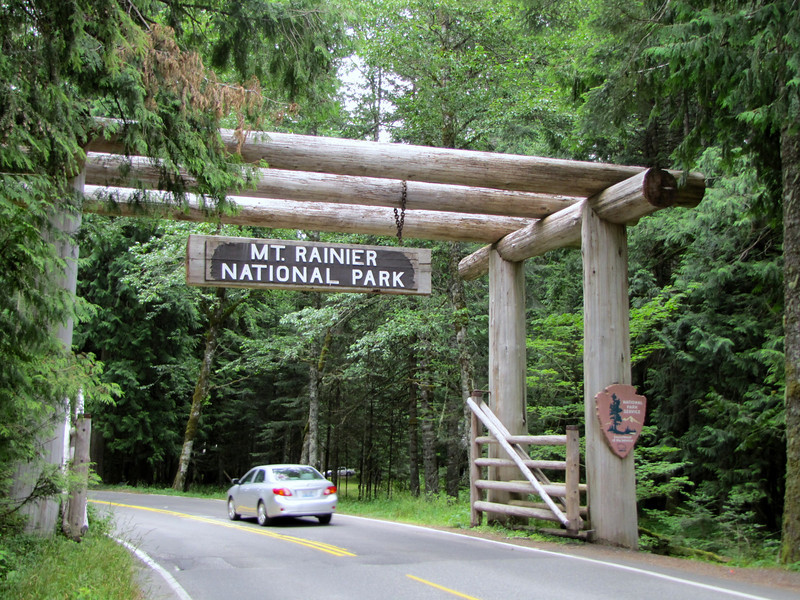 The Nisqually Entrance of Mount Rainier National Park