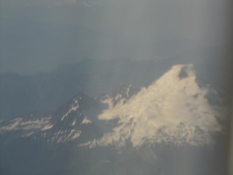 for the last time.....Mnt Baker 3286m,  Flight Seattle - Amsterdam