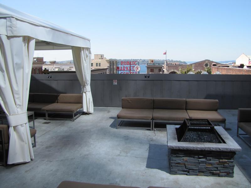 Roof terras, Hard Rock Cafe, Seattle