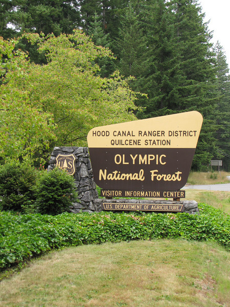 Visitor centre Olympic National Park (Quilcene)