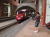 Robert & Stijn, Departure Thalys 2664 Antwerp Belgium - Schiphol, Amsterdam Airport Netherlands