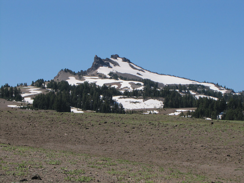 Grouse Hill 2260m, caldera rim, Crater Lake National Park
