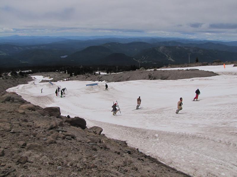 Ski area, South-side Mnt. Hood
