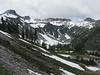 View to the Ptarmigan Trail Ridge [left], Mount Baker, Washington
