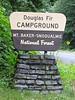 campground Douglas Fir, Mount Baker-Snoqualmie national Forest, Washington