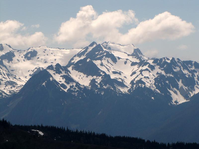 view from Klahane Ridge (Olympic Mountains)