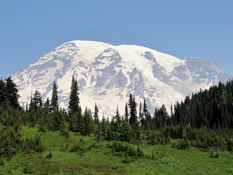 Mount Rainier 4342m, highest summit in Washington,  Mount Rainier National Park