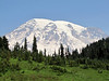 Mount Rainier 4342m, highest summit in Washington,  Mount Rainier National Park