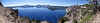 panorama-view from the North junction 2142m, Crater Lake National Park