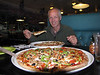 18 inches Pizza, Sequim, Olympic Mountains, Washington
