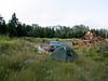 camp place near Mineral Lake, road 7, WA