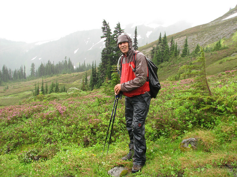 bad weather (Skyline Divide Trail, near Mount Baker, Washington)