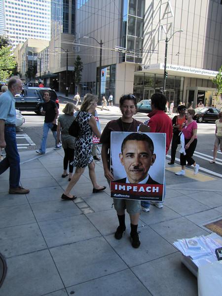 Demonstration in Seattle