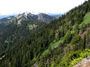 view from Switchback Trail, Olympic Mountains