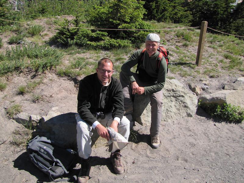 Timberline Lodge, mountaineer Trail, Mount Hood)