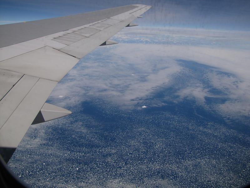 Greenland, Flight KL6023 A'dam Netherlands - Seattle USA with Kees Jan van Zwienen