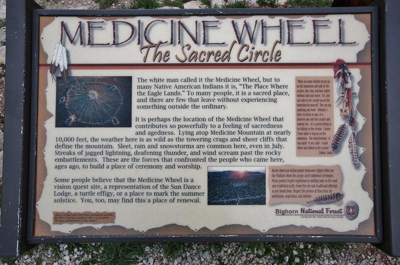 Medicine Wheel Nat'l. Hist. Site. Lovell, WY.