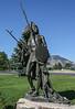 Stature of Washakee - Chief of the Shoshone