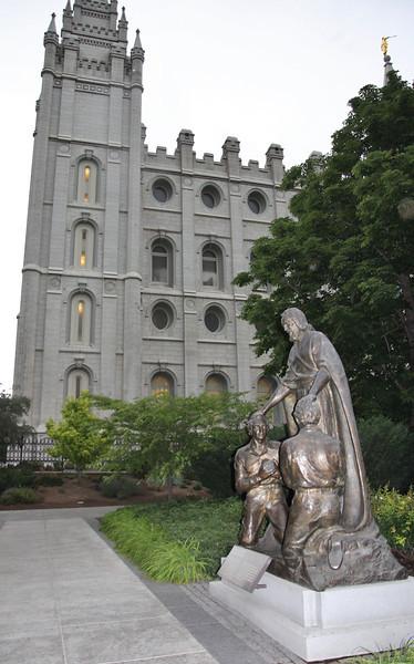 Mormon Church, Salt Lake City, UT.