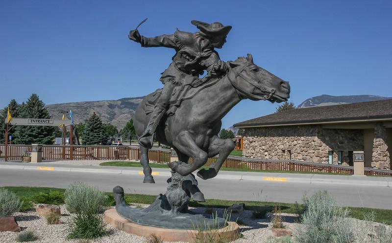 Stature of Bill Cody