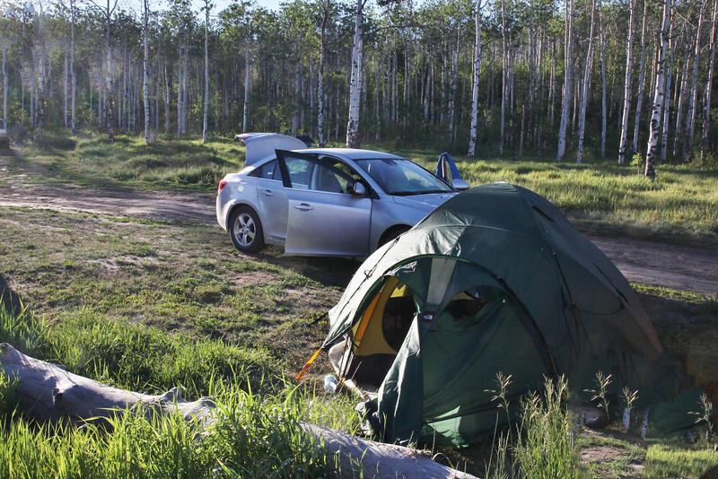 Campsite, Teton National Forest