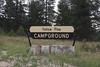Campground Yellow Pine, E of Kamas.