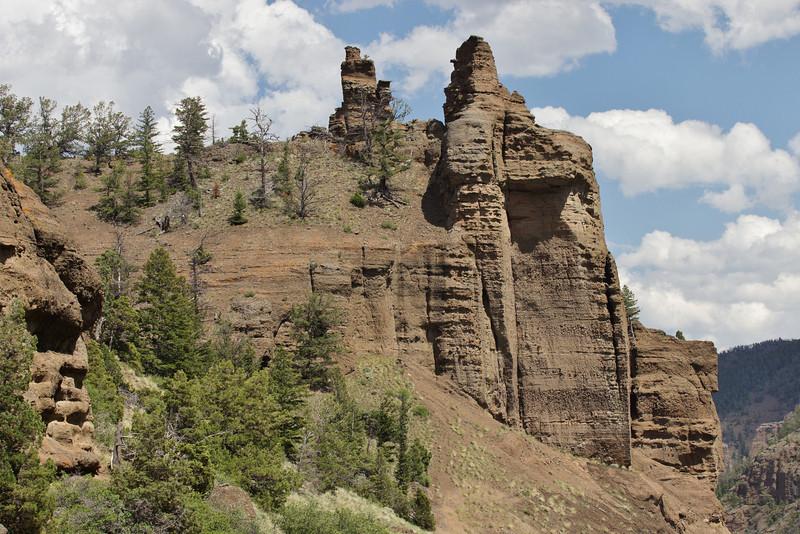 Semi-desert near Cody, Shoshone National  Forest