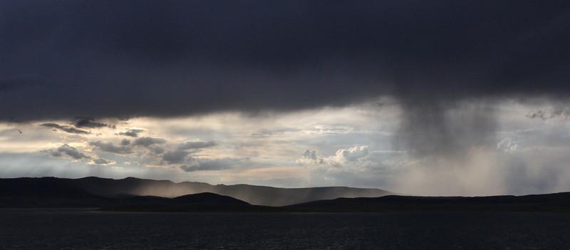 Downpour near Starvation Reservoir State Park