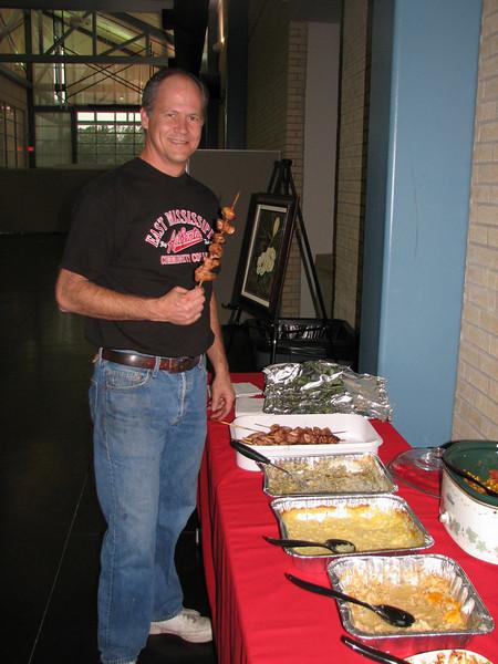 Steve the grill master (EMCC Mayhew MS)