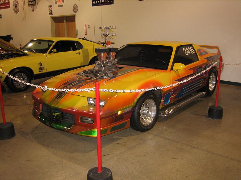 race car (Automobile Museum)