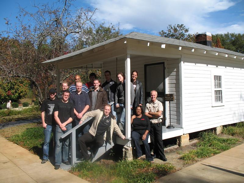 Elvis Presley birthplace (Tupelo MS )
